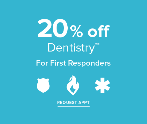 20% off Dentistry for First Responders - Dentist in Spring, TX - Spring Smiles Dental Group and Orthodontics